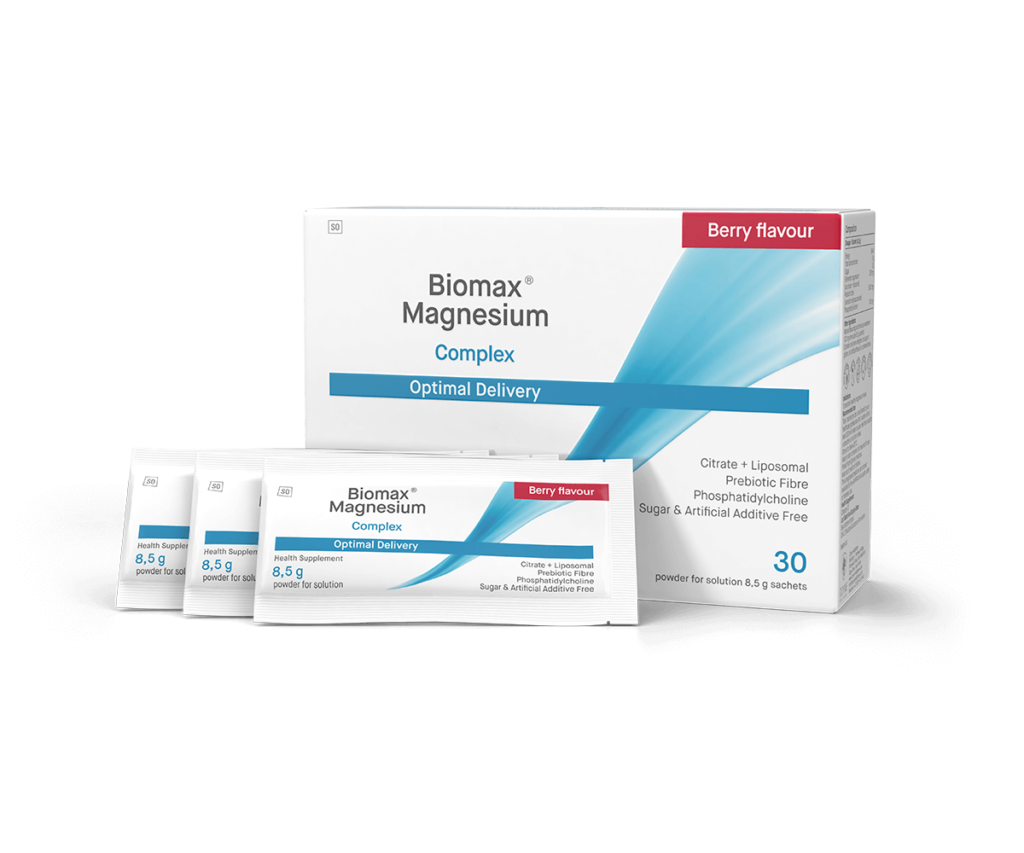 Biomax-Magnesium-Berry-Flavoured-Optimal-Delivery-Group-Packshot-(1)