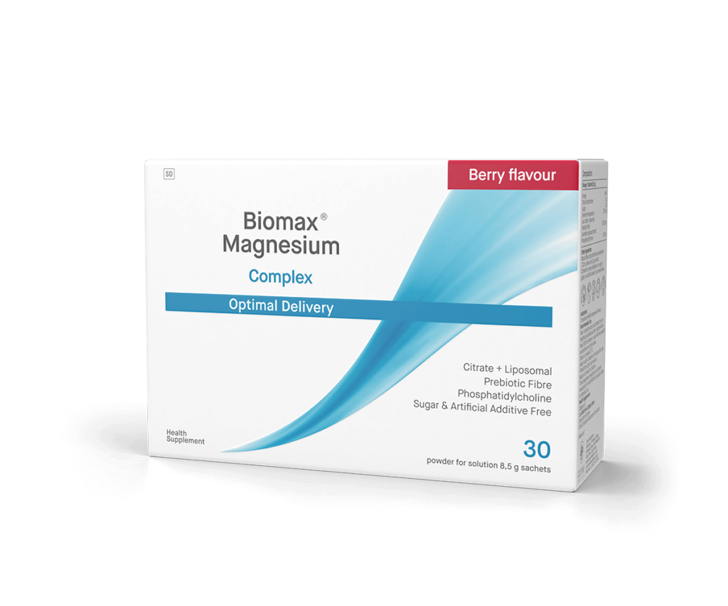Biomax-Magnesium-Berry-Flavoured-Optimal-Delivery-Side-Front-Box (1)