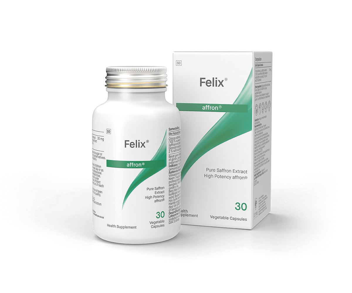 Felix Feel Good Supplement With A Highly Specialised Saffron Extract